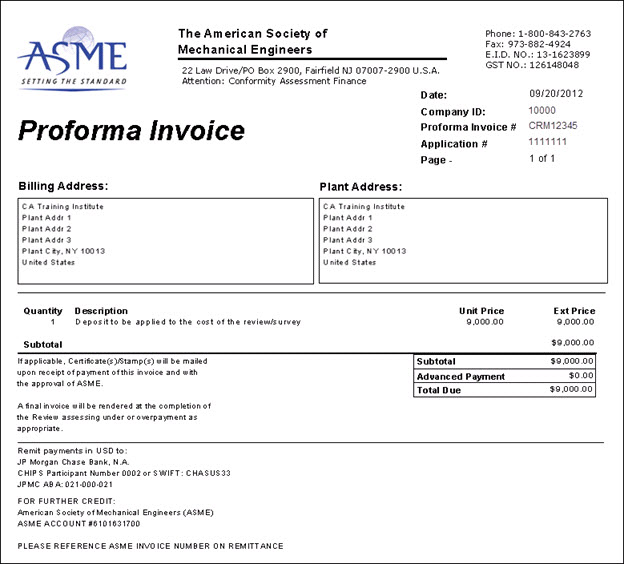 Proforma Invoice Nonb - What is a proforma invoice